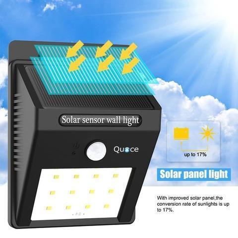 Motion Sensor Solar LED Light